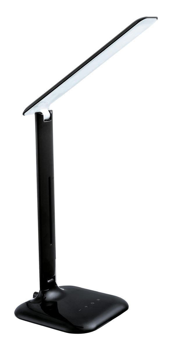 1x4W LED Desk Lamp w/ Black  Finish