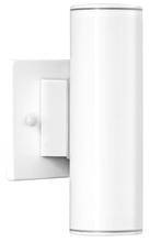 Eglo 84004A - 2x50W Outdoor Wall Light w/ White Finish