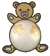 Eglo 87483A - 1X60W Childrens Wall Light w/ Bear Design