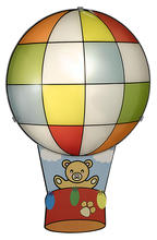 Eglo 87484A - 1X60W Childrens Wall Light w/ Balloon Design