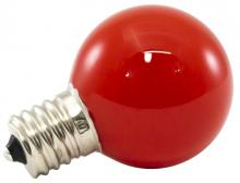 American Lighting PG40F-E17-RE - Premium Grade LED Lamp Intermediate Globe, Intermediate base, Frosted Red Glass, wet location and fu
