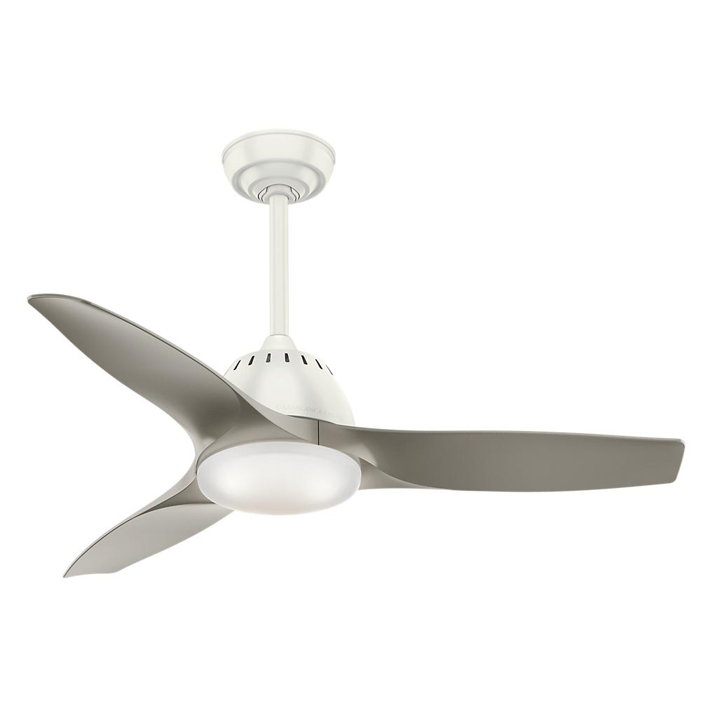 "44"" Ceiling Fan with Light with Handheld Remote"