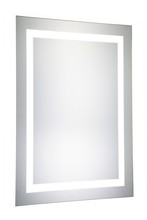 "Elegant MRE-6002 - LED Electric Mirror Rectangle W20""H40"" Dimmable 5000K"