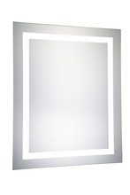 "Elegant MRE-6003 - LED Electric Mirror Rectangle W24""H30"" Dimmable 5000K"