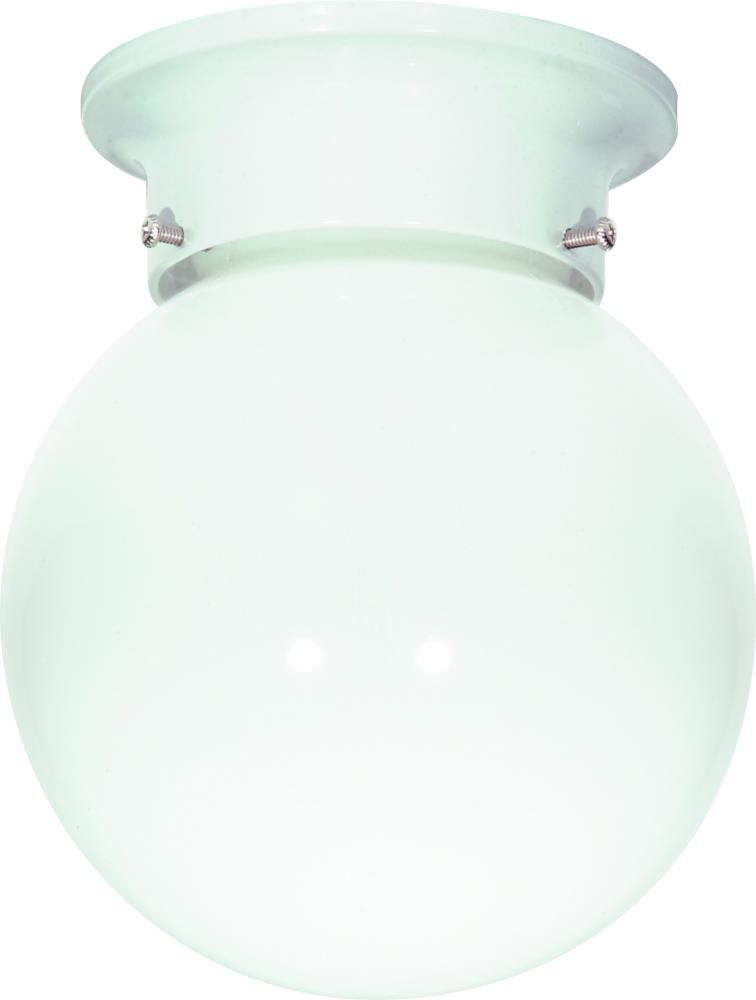"1 Light 6"" Ball Fixture"