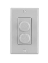 Fanimation CW60WH - Wall Control Non-Reversing - Fan Speed and Light - WH